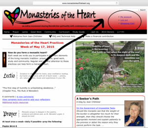 Monasteries of the Heart Community Profile One