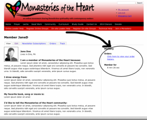 Monasteries of the Heart Community Profile Seven