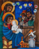Holy Family by Br. Mickey McGrath